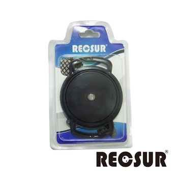 《RECSUR 銳攝》鏡頭蓋防丟扣 FOR 40.5/49/62 mm(可安裝於背帶上面)