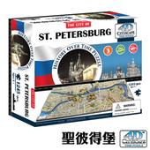 4D 立體城市拼圖 - 聖彼得堡 1245 片 +
