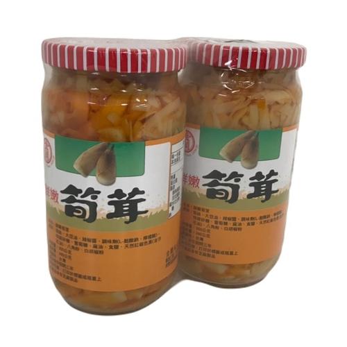 《金蘭》筍茸(350g*2 瓶/組)