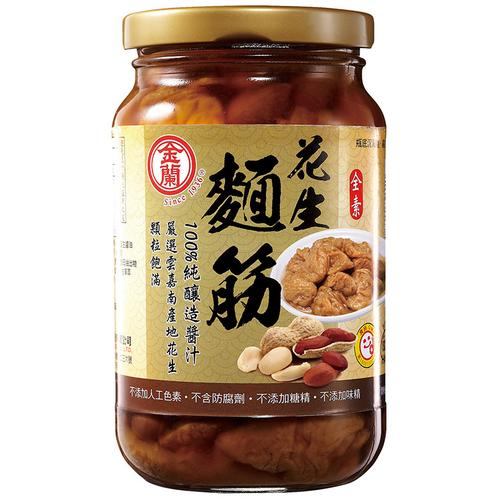 《金蘭》花生麵筋(380g*2 瓶/組)