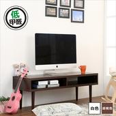 《BuyJM》環保低甲醛厚板電視櫃-寬105CM(胡桃)