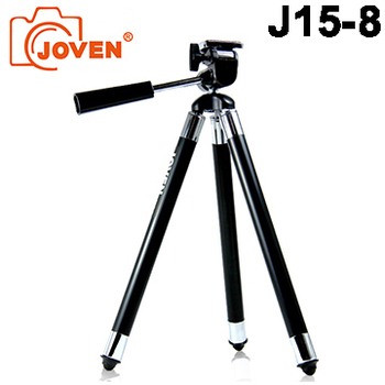 JOVEN J15-8 / J158 八段式銅管三腳腳架 (展開約102公分)(黑)