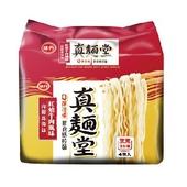 《味丹》真麵堂紅燒牛肉湯麵(104g*4入/組)