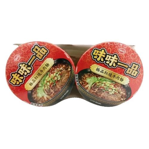 《味丹》味味一品極品紅燒牛肉麵(181g*2入/組)