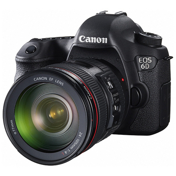 Canon EOS 6D EF 24-105 f/3.5-5.6單鏡組(公司貨)★送64G+UV保護鏡(77mm)+大清潔組+防潮箱+相機包