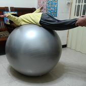 《Sport-gym》正港ㄟ100%防爆球 85cm(銀色)