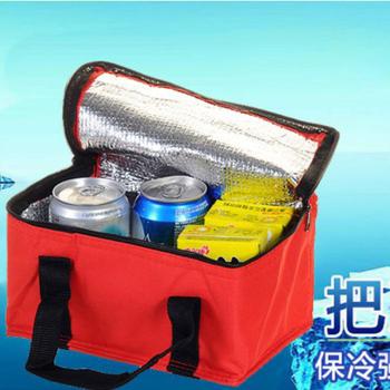 Bunny 馬卡龍繽紛保冰保溫袋便當袋野餐袋(二入)(隨機)