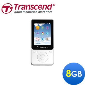 Transcend 創見 MP710 運動風計步功能MP3撥放器-加送創見系列(TS-PA2A)320 用充電器(白色)