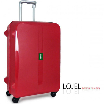 ★結帳現折★CROWN/LOJEL 29吋PP霧面框架硬殼行李箱(紅色)
