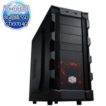 微星電競平台 【狂暴之舞】 i5-4460 四核 GTX970 4G固混碟 SSD 8G飆速電競機