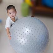 100%防爆顆粒按摩球 統合感覺觸覺球/韻律球/團體活動球  安全不爆裂