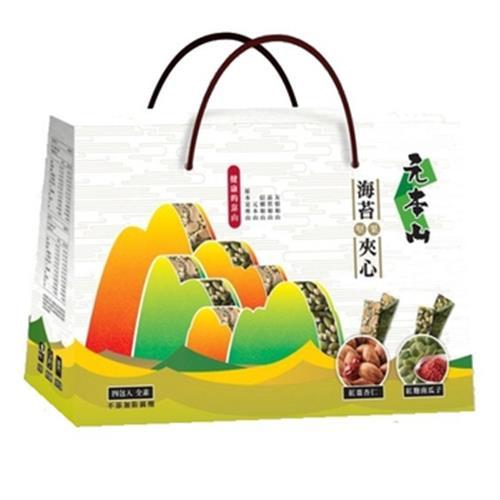聯華 元本山海苔堅果夾心禮盒(216g/盒)