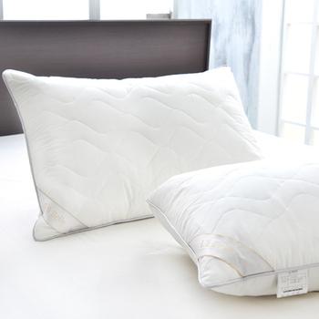 La Belle 法國天然羽毛絨舖棉舒眠枕(一入)