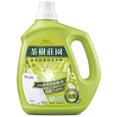 《茶樹莊園》茶樹超濃縮洗衣精(2000g)