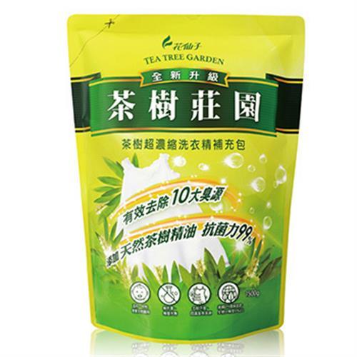茶樹莊園 茶樹超濃縮洗衣精補充包(1500g)