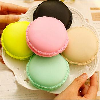 馬卡龍充電式暖手寶充電式暖蛋 內附贈PU精美皮套(粉色)