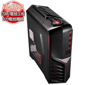 微星電競平台 【火炎星】i7-4790 四核GTX970 4G獨顯SSD 8G戰地風雲機
