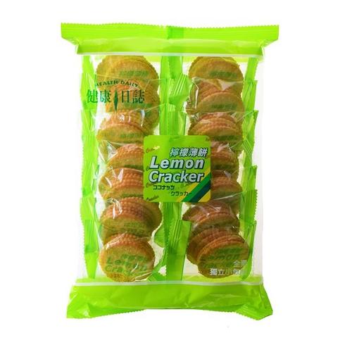 健康日誌 檸檬薄餅(231g/袋)