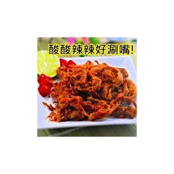 味味屋肉干 香辣檸檬豬肉絲(120g/袋)
