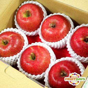 《鮮果日誌》日本空運青森蜜蘋果(6入禮盒)