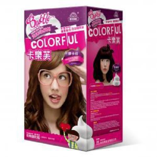 卡樂芙 泡沫染髮劑 甜摩卡棕(A劑50g/B劑50g/盒)