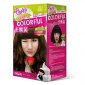 《卡樂芙》泡沫染髮劑 亞麻棕(A劑50g/B劑50g/盒)