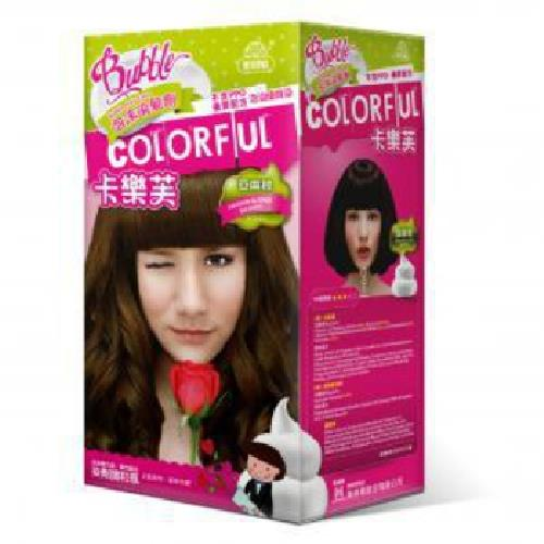 卡樂芙 泡沫染髮劑 亞麻棕(A劑50g/B劑50g/盒)