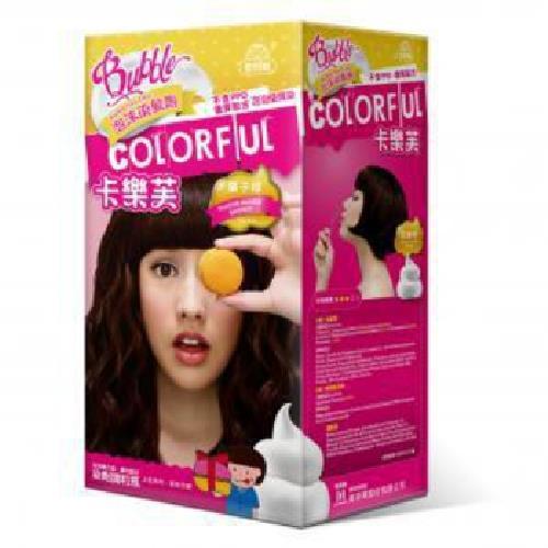 卡樂芙 泡沫染髮劑 栗子棕(A劑50g/B劑50g/盒)