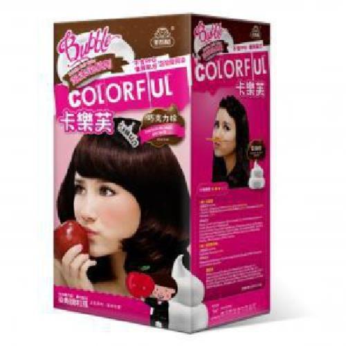 卡樂芙 泡沫染髮劑 巧克力棕(A劑50g/B劑50g/盒)