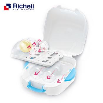 日本-Richell 微波爐專用奶瓶消毒盒