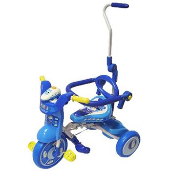 新幹線、貓咪折疊三輪車(藍色)