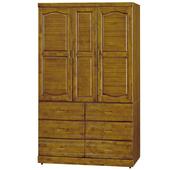 《時尚屋》G15 雲雅樟木4x7尺衣櫃105-4
