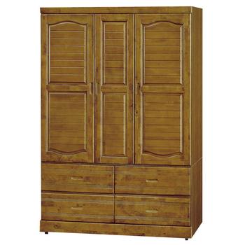 《時尚屋》G15 雲雅樟木4x6尺衣櫃105-2