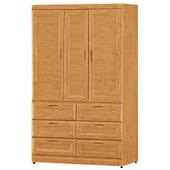 《時尚屋》G15 丹姿赤楊木4x7尺衣櫃103-4