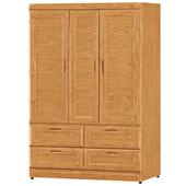 《時尚屋》G15 丹姿赤楊木4x6尺衣櫃103-2
