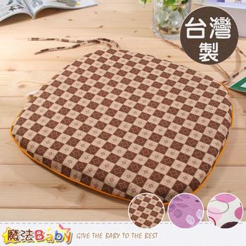 《魔法Baby》台灣製涼蓆面椰棕餐椅墊 id184(C)