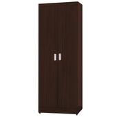 《時尚屋》G15 凱特2.5尺雙門衣櫃095-2(胡桃色)