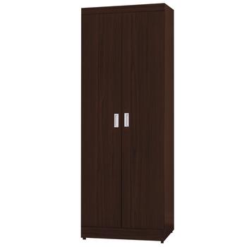 時尚屋 G15 凱特2.5尺雙門衣櫃095-2(胡桃色)