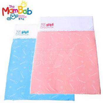 《Mambab-夢貝比》 銀離子抗菌嬰兒乳膠床墊-粉紅【S號小床/遊戲床專用】(粉紅色)