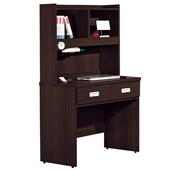 《時尚屋》G15 凱特胡桃2.7尺書桌051-4
