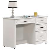 《時尚屋》G15 安東尼烤白色書桌027-8