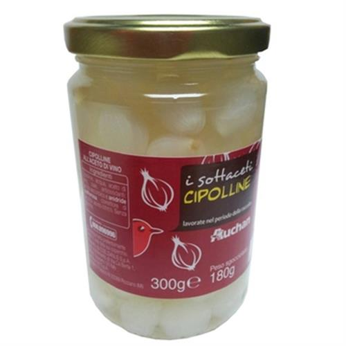 Auchan 義大利醋漬洋蔥(300GR/瓶)