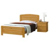 《時尚屋》G15 白楓木3.7尺加大單人床078-1(床頭+床架)-不含床頭櫃