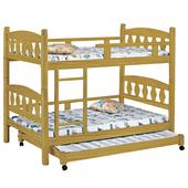 《時尚屋》G15 烏心石子床型3尺雙層床069-1不含床墊