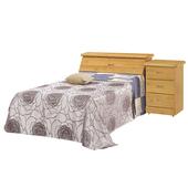 《時尚屋》G15 赤陽色3.7尺加大單人床063-1+063-2(床頭+床底)-不含床頭櫃