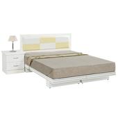 《時尚屋》G15 金格純白色5尺雙人床083-7+083-2(床頭+床架)-不含床頭櫃