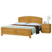 《時尚屋》G15 白楓木5.2尺雙人床078-2(床頭+床架)-不含床頭櫃