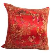 傳統中國風抱枕-百子圖45*45cm $129