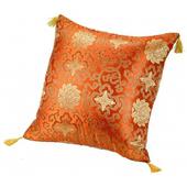 傳統中國風抱枕-圖騰橘45*45cm