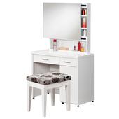 《時尚屋》G15 金沙鏡台032-4(含椅子)(白)